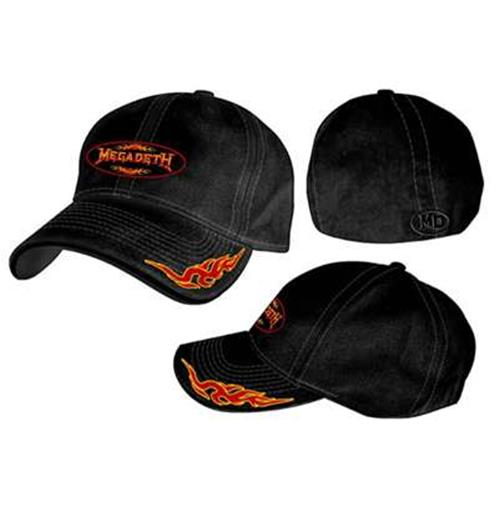 Fashion Merchandising on Megadeth Black Flexi Fit Cap For Only    25 82 At Merchandisingplaza