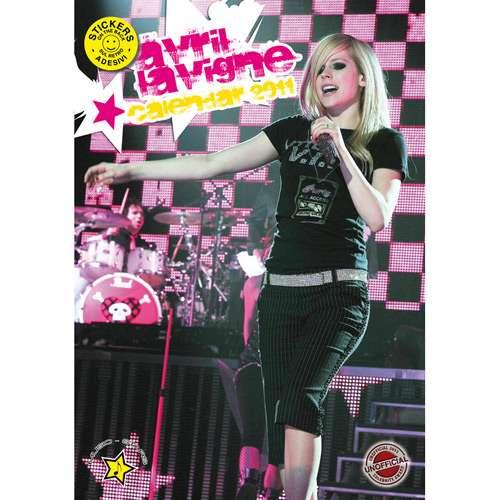 Avril Lavigne Calendar 2011