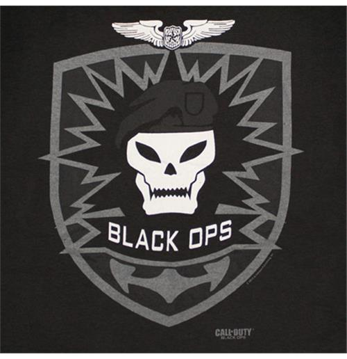 CALL OF DUTY Black Ops Skull Logo T-Shirt