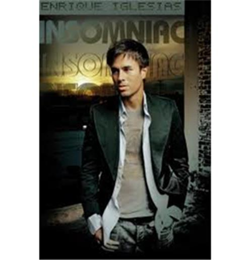 Enrique Iglesias Poster on Enrique Iglesias Insomniac Poster For Only    4 02 At