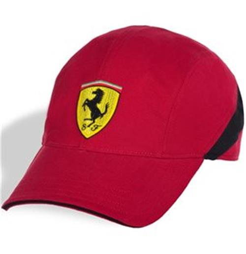Ferrari Cap Black Stripe - MerchandisingPlaza - Ferrari  - Caps - Formula 1 - ID 7895
