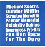 The Office Fun Run Royal Blue TShirt