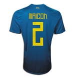 2011-12 Brazil Nike Away Shirt (Maicon 2)