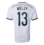 2014-15 Germany World Cup Home Shirt (Muller 13) - Kids