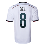 2014-15 Germany World Cup Home Shirt (Ozil 8) - Kids