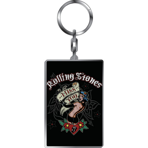 Rolling Stones Keyring Rolling Stones Design: Miss You