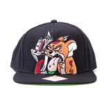 Tom & Jerry Snap Back Baseball Cap Sick