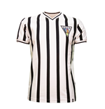 Dunfermline Athletic FC 1960's Short Sleeve Retro Shirt 100% cotton