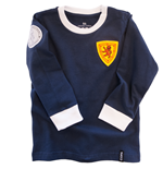 Scotland 'My First Football Shirt' Long Sleeve 90% organic cotton / 10% elasthan
