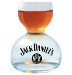 JACK DANIELS Water Bottom Shot Glass
