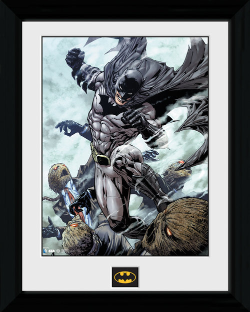 Batman Scarecrow Framed Print