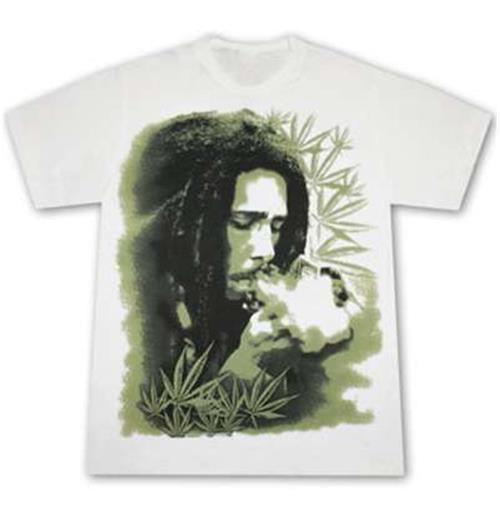 Official Bob Marley Herb Tee Shirt Buy Online On Offer