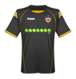 09-10 Valencia away shirt (Kids)