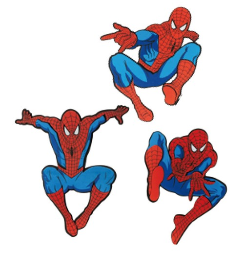 Spider Man Wall Decor 3 Packs Case 6 For Only At