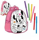 MINNIE MOUSE backpack for coloring