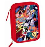 LOONEY TUNES pencil case double filled