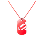 Superman Dog Tag Cut Out Logo