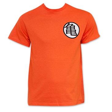 d75c92b6da0c7 Buy DRAGON BALL Z Orange King Kai Goku Symbol Costume T-Shirt