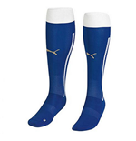 2014-15 Italy Home Puma Football Socks (Blue)