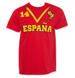 Spain Soccer Team WORLD CUP Jersey Shirt