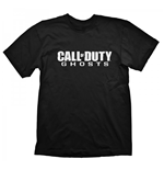 CALL OF DUTY Ghosts Logo Extra Large T-Shirt, Black