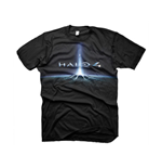 HALO 4 In the Stars Large T-Shirt, Black