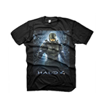 HALO 4 The Return Extra Large T-Shirt, Black