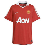 2010-11 Man Utd Home Shirt (+ Your Name) - Kids