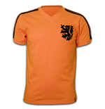 Holland WC 1974 Short Sleeve Retro Shirt 100% cotton