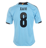 2012-13 Spain Euro 2012 Away (Xavi 8) - Kids