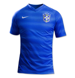 2014-15 Brazil Away World Cup Football Shirt