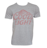 COORS Brewing Co. Grey Faded Logo T-Shirt