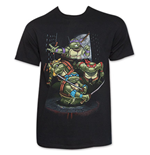 TEENAGE MUTANT NINJA TURTLES Mean Group Shot T-Shirt