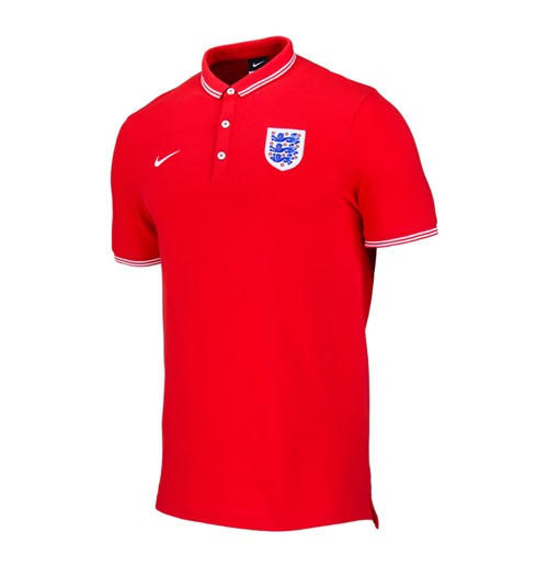 2014-15 England Nike Authentic Polo Shirt (Red)
