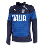 2014-15 Italy Puma Padded Top (Blue-Navy)