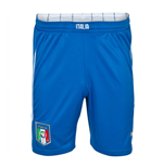 2014-15 Italy Puma Home Shorts (Blue)