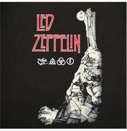Buy Official Led Zeppelin Stairway To Heaven Tee Shirt