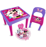 DISNEY Minnie Mouse Bow-tique My First Activity Table and Creative Set (35pc)