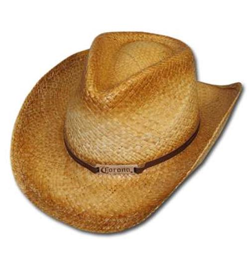 8413ceeab4344 Pricefalls.com Marketplace Metal Corona Cowboy Hat  Buy Official Corona  Extra Leather Accent Straw Cowboy Hat