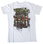 TEENAGE MUTANT NINJA TURTLES (TMNT) Ninjas In Training Kid T-Shirt, 116/122cm, White