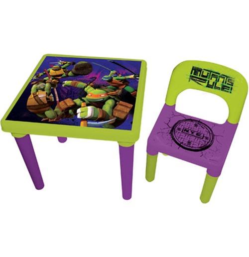 Awesome Teenage Mutant Ninja Turtles Tmnt My First Activity Table Chair Set With Creativity Kit 35 Pcs Ibusinesslaw Wood Chair Design Ideas Ibusinesslaworg