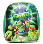 TEENAGE MUTANT NINJA TURTLES (TMNT) Mini Backpack with The Pose Design, Green