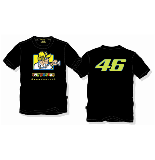 624473fb Buy Official Valentino Rossi The Doctor T-Shirt 2014 Black