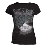 Game Of Thrones Ladies T-Shirt Stark Houses