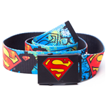 DC COMICS SUPERMAN Graffiti Webbing Canvas Belt