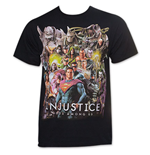 JUSTICE LEAGUE Injustice Men's God Among Us Superman DC Comics T-Shirt
