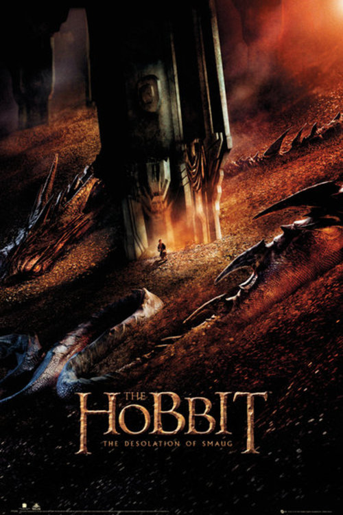 The Hobbit Dragon Maxi Poster