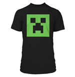 Minecraft Premium T-Shirt Creeper Glow in the Dark Face