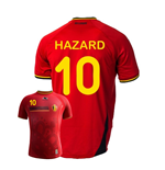 2014-15 Belgium World Cup Home Shirt (Hazard 10) - Kids