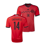 2014-15 Mexico World Cup Away Shirt (Chicharito 14) - Kids